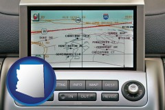 arizona a gps navigation system