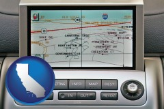 california a gps navigation system