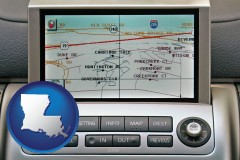 louisiana a gps navigation system