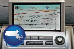 massachusetts a gps navigation system