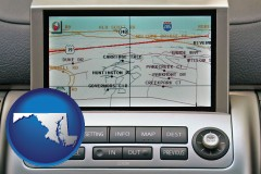 maryland a gps navigation system