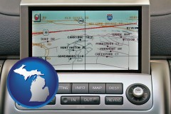 michigan a gps navigation system