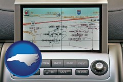 north-carolina a gps navigation system
