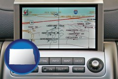 north-dakota a gps navigation system