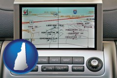 new-hampshire a gps navigation system