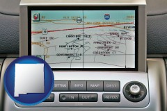 new-mexico a gps navigation system