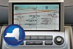 new-york a gps navigation system