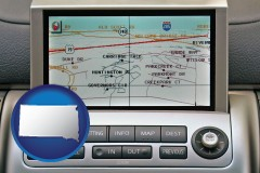 south-dakota a gps navigation system