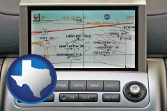 texas a gps navigation system