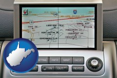 west-virginia a gps navigation system