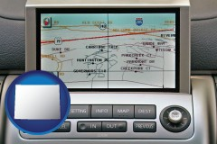 wyoming a gps navigation system